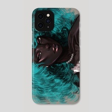teal - Phone Case by blossom blair