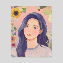 More&More - Dahyun - Canvas by Ray