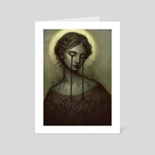 Germination - Art Card by Caroline Jamhour