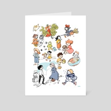 Ghibli Collection - Art Card by Lily Van