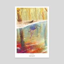 Drown - Canvas by Bianca Morelos