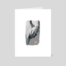 David 1 - Art Card by Julia Torjak