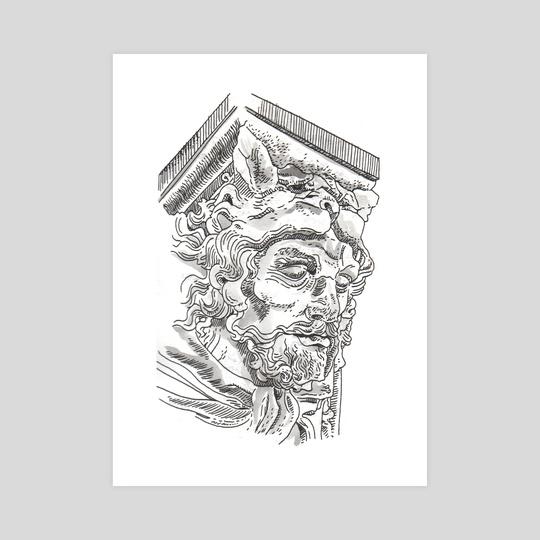Sculpture Head by Dan Archer