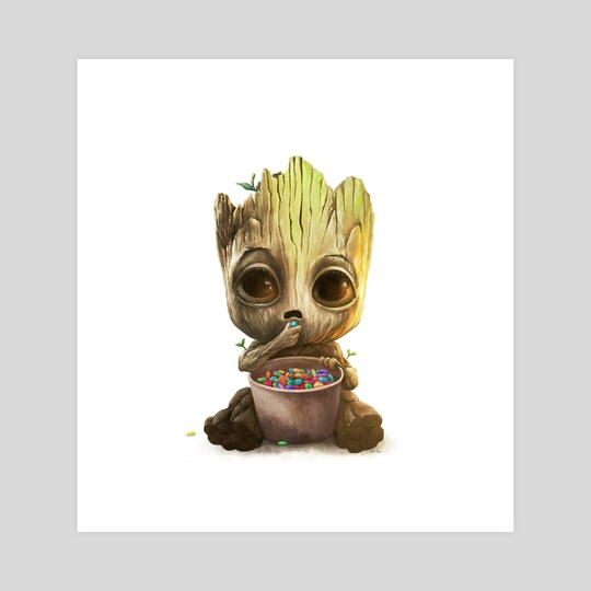 Baby Groot by Phillip Cullen