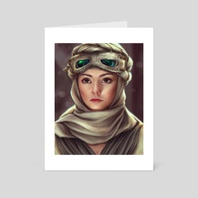 Rey - Art Card by Daria Dzyuba