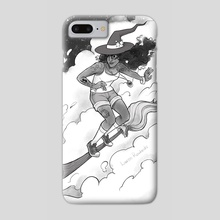 Cloud Surfer - Phone Case by Lauren Rowlands