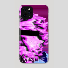 Vaporwave Poseidon - Phone Case by Alessio Mollo