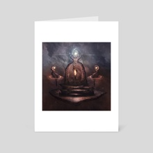 Shrine of the World-Crystal - Art Card by Oghmu