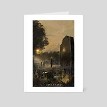 Coranox Interior Illustration: Morning Light - Art Card by Art @ FifthExile