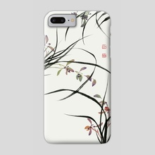 Orchid - 128 - Phone Case by River Han