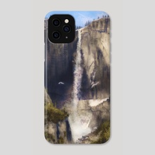 The holy mountain - Phone Case by Miguel Guzmán