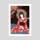 Harutonari - Art Print by Sai Tamiya