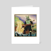 Return of the Fett - Art Card by Daniel Wolff