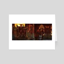 Verdict of Lord Ishvali - Art Card by Raashaad Jones