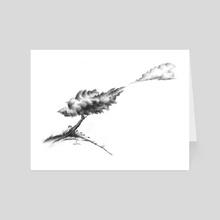 I Fell in Love with a Cloud...  - Art Card by Izabela Ciesinska