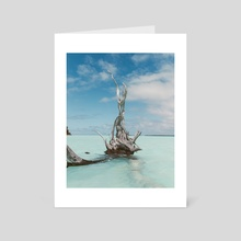 Tahiti - Art Card by Solmaz Saberi