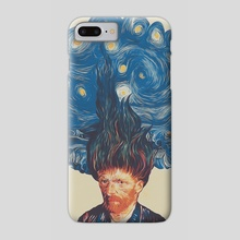 de hairednacht - Phone Case by MUSTAFA AKGUL