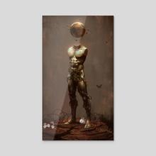 Oxidated Oblivion - Acrylic by Thomas Wievegg