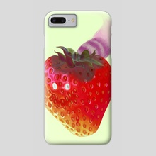 Cheshire Berry - Phone Case by yu idd