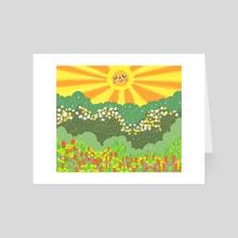 Spring Fever - Art Card by Jazzmin Smith