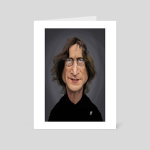 John Lennon - Art Card by Rob Snow