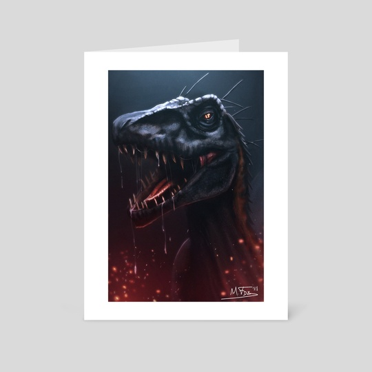 Indoraptor by Mireia Fdz