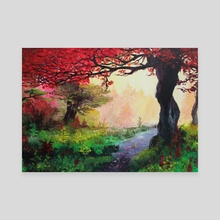 Enchanted forest - Canvas by Melissa Falconi