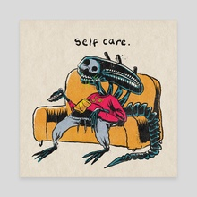 self care - Canvas by Brandon Lepine