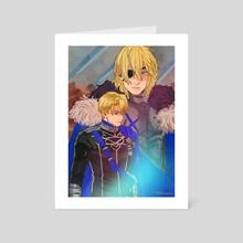 Dimitri  - Art Card by Mizo