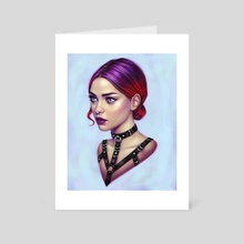 VI - Art Card by Tara Phillips