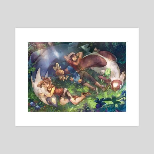 Pokemon ORAS print by JJ EB