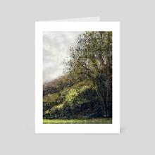 landscape 04 - Art Card by Vinicius Chagas