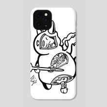 Imp Anatomy - Phone Case by Maverick Chavaria & Cecilia Salisbury