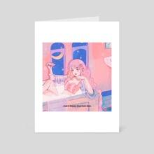 Bath Time - Art Card by Jii 97