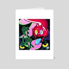 RELAX - Art Card by FAIK ART