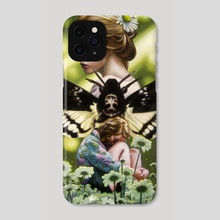 Moth Kingdom - Phone Case by Craig Maher
