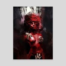 Femme Invitro - Canvas by Helder Beltre
