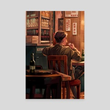 Drink - Canvas by Etcetera