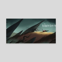 The Barrow-Downs - Canvas by Nikolas Ilic