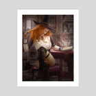 Little witch - Art Print by Kirill Repin