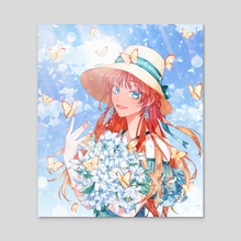Summer - Acrylic by shipsaam