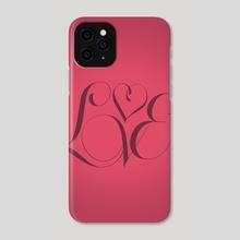 Love - Phone Case by Rui Faria