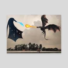 Dance of Dragons | GOT theme - Canvas by Bipin Koirala