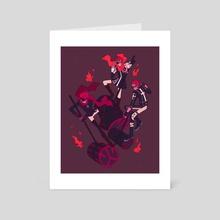 lavi - Art Card by Katie Posner