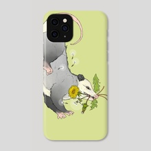 Trash Bouquet Color - Phone Case by Kristina Wiltse