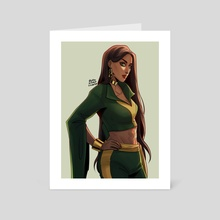 talia al ghul - Art Card by Eileen Widjaja