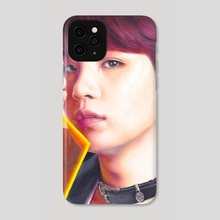 BTS Suga Drawing 2 - Phone Case by Danielle