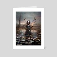 Aminatou, the Fateshifter - Art Card by Seb McKinnon
