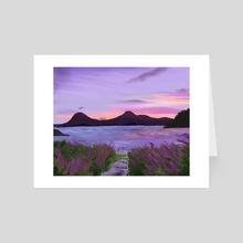 Guatamala Landscape - Art Card by Anais Cantres