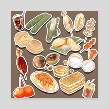 Filipino Foods - Canvas by OzumiiWizard
